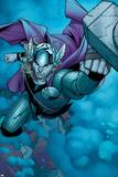 Avengers Assemble Panel Featuring Thor Signes en plastique rigide