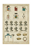 Art Heraldique I Print by  Vintage Collection