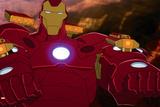 Avengers Assemble Animation Still Featuring Iron Man Prints