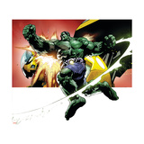 Avengers Assemble Artwork Featuring Hulk Posters