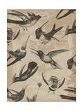 Bird Pattern I Prints by Jennifer Goldberger