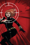 Avengers Assemble Panel Featuring Black Widow Prints
