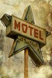 Vintage LA XV Posters by Honey Malek