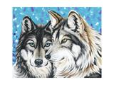 Grey Wolf I Poster by Carolee Vitaletti