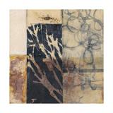 Indigo Layers I Posters by Jennifer Goldberger