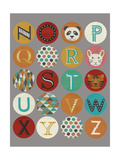 Lucien's Alphabet II Posters by Chariklia Zarris