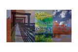 Fort Worth Collage I Art by Sisa Jasper