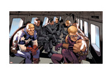 Avengers Assemble Artwork Featuring Captain America, Steve Rogers, Hawkeye Prints