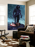 Captain America: Winter Soldier Wall Mural