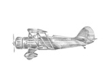 Technical Flight VI Print by Ethan Harper