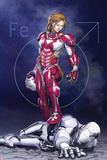 Superior Iron Man 9 Cover Featuring Rescue, Pepper Potts, Superior Iron Man Print by Mike Choi