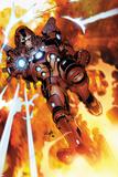 Invincible Iron Man 523 Cover Featuring Iron Man Plakater af Salvador Larroca