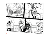 Avengers Assemble Inks Featuring Captain America, Thor Print