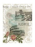 Visiting Rome Art by Jennifer Goldberger