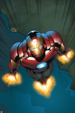 Avengers Assemble Panel Featuring Iron Man Plastic Sign