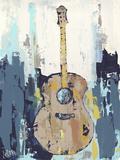 Bluebird Cafe I Premium Giclee Print by Deann Hebert