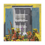 Window Floral I Posters by Rick Novak