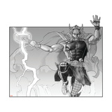 Avengers Assemble Artwork Featuring Thor Prints