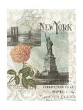 Visiting New York Premium Giclee Print by Jennifer Goldberger