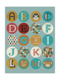 Lucien's Alphabet I Prints by Chariklia Zarris