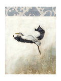 Waterbirds in Mist IV Print by Naomi McCavitt