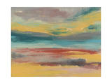 Sunset Study IX Premium Giclee Print by Jennifer Goldberger