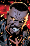 Mighty Avengers 9 Featuring Blade Plastic Sign by Greg Land