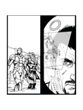 Avengers Assemble Inks Featuring Thor, Iron Man, Tony Stark Prints