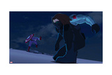 Avengers Assemble Animation Still Featuring Captain America, Winter Soldier Print