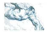 Avengers Assemble Pencils Featuring Hulk Print
