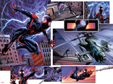 Cataclysm: The Ultimates Last Stand 2 Featuring Spider-Man Plastic Sign by Mark Bagley