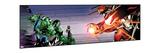 Avengers Assemble Artwork Featuring Hulk Posters