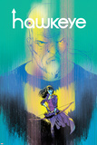 Hawkeye 1 Cover Featuring Hawkeye, Bishop, Kate Plastic Sign by Ramon Perez