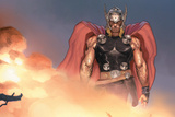 Avengers Assemble Artwork Featuring Thor Posters