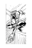 Avengers Assemble Inks Featuring Hawkeye Prints