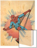 Marvel Comics Wood Print