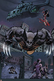 Savage Wolverine 7 Featuring Wolverine, Elektra Posters by Joe Madureira