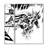 Avengers Assemble Inks Featuring Thor Poster