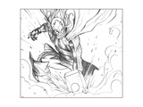 Avengers Assemble Pencils Featuring Thor Print