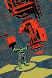 Indestructible Hulk 17 Cover Featuring Hulk Plastic Sign by Mahmud Asrar
