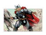 Avengers Assemble Panel Featuring Thor Plakat