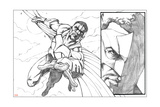 Avengers Assemble Pencils Featuring Falcon Prints