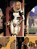 Uncanny X-Men 8 Featuring Dazzler Plastic Sign by Chris Bachalo