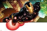 Avengers Assemble Artwork Featuring Iron Man Plakater