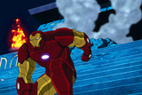 Avengers Assemble Animation Still Featuring Iron Man Photo