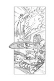 Avengers Assemble Pencils Featuring Captain America, Black Widow Posters