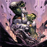 Avengers Assemble Panel Featuring Hulk Prints