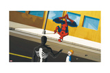 Ultimate Spider-Man Animation Still Print