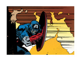 Avengers Assemble Artwork Featuring Captain America Posters
