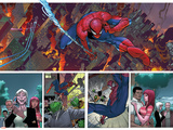 Superior Spider-Man 31 Featuring Spider-Man, Parker, May, Mary Jane Watson, Jameson Sr., J. Jonah Posters by Giuseppe Camuncoli